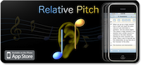 RelativePitch interval ear training app