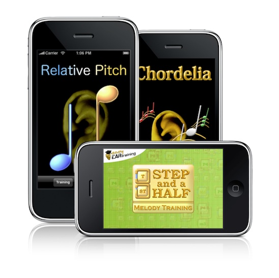 Easy Ear Training's range of aural skills apps for iOS