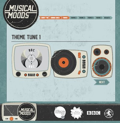 Take the Musical Moods test and help new music research