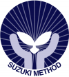 The Suzuki Method uses aural skills