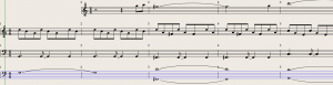 Frequency Basica: Revised Score - note the improved octave spread