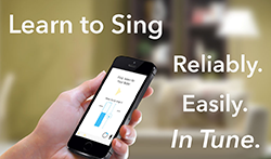 Learn to sing with SingTrue